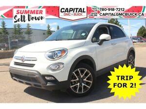 2017 Fiat 500X TREKKING AWD DUAL SUNROOF 18 WHEELS BACK UP CAMER