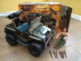 Action Man Jeep + Figure
