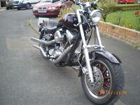 1990 Harley-Davidson Customised FXRS 1340 Evo.