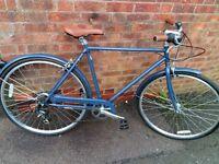 men's reid vintage roadster bike 700 wheels