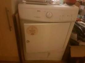 Re-listed due to time waster Zanussi tumble dryer