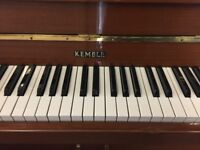 Upright Kemble Piano (Free local Delivery up-to 10 Miles of Tn12 ) Piano tuned to concert Pitch 440