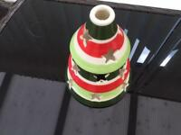 Brand New Tee Light Candle Holder - xmas Tree