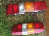 Transit mk6 rear lights pair