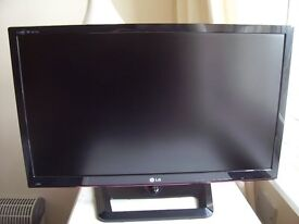 """LG 27"""" M2755D IPS Panel LCD TV + Monitor, 1080P, Excellent Condition, Boxed."""