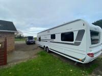 Lmc 695 2018. Caravan trailer hobby fendt tabbert.
