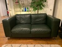 BEST OFFER!! Comfy 2 seater leather sofa