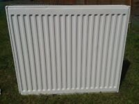 NEW COMPACT K2 DOUBLE PANEL DOUBLE CONVECTOR RADIATOR 700mm wide x 600mm high 22DG UNUSED