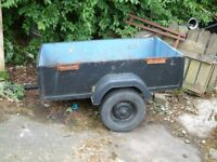 small car trailer 5x3 good wee trailer