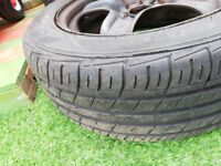 Size 16 steal wheels with good tyres