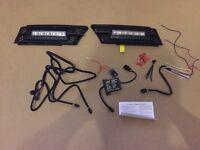 Devil Eyes LED Daytime Running Lamp Set for BMW 3 Series E90 and E91 - 320 335d 330i 335 320 318 325