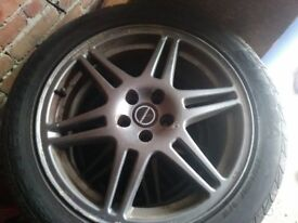 2 sets ov alloys 17 in forrests 15in golf