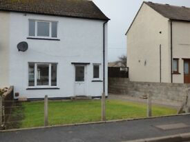 For Sale 2 Bed end terrace house, Boath Park, Nairn. Large enclosed garden and shed