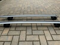 Kia Sportage 2016-Present Aluminium Roof Rail Cross Bars With Pin Holes