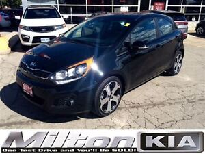 2013 Kia Rio SX LOADED CAR PROOF CLEAN Oakville / Halton Region Toronto (GTA) image 1
