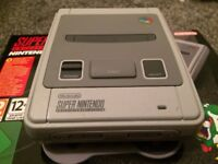 SNES Mini Classic - Boxed and Like New