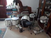 Tama Hyperdrive Superstar Custom 6 Pc drum kit
