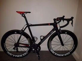 Argon 18 gallium pro with ultegra di2 groupset. Carbon race bike size 57