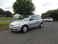 VAUXHALL CORSA HATCHBACK 1.0 LIFE TWINPORT SILVER 2004 ONLY 74K MILES BARGAIN 750 *LOOK* PX/DELIVERY