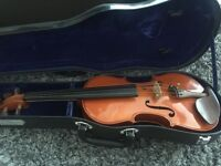 Violin, Rosin, and Hard Case. Custom add ons