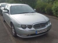 Rover 75, diesel, 2l, 2004, 75000 ml, manual, service history, MOT 1 year