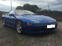 '92 Mitsubishi GTO (Jap spec 3000GT) 3.0ltr non-turbo, automatic, rare colour with leather interior