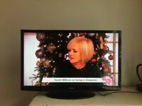 Bush 32 inch HD LCD TV, Built in USB, Freeview excellent condition