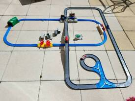 Tomy and tomica train set