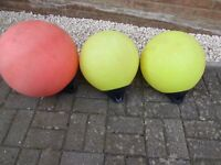 Three used Polyform A1 buoys for sale