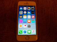 i phone 5s 32 gb o2 network (faulty but working)