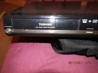 Toshiba dvd recorder +HDD