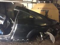 Audi tt rear quarter breaking