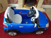 kids electric car mini cooper s