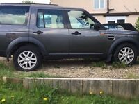 Land Rover discovery3 spares or repairs running