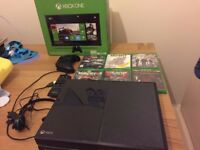 xbox one 500gb boxed complete with games