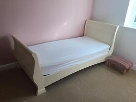 Stunning Aspace Single Sleigh Bed
