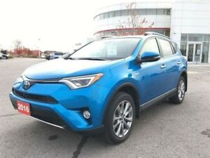 2016 Toyota RAV4 Hybrid Limited Technology PKG - Off-Lease!