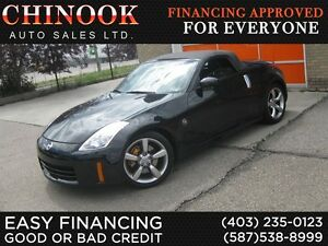 2009 Nissan 350Z Grand Touring w/Black Top,Low KM,No Accident