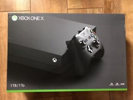 Brand New Sealed Xbox One X 1TB - 1 Year Warranty