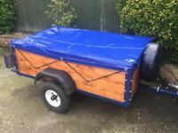Factory built 5ft x 3ft trailer (excellent condition)