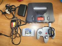 Nintendo 64 + Official 8mb Expansion + Official leads and PSU, + Official Pad + Jet Force Gemini