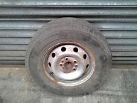 SPRINTER WHEEL AND TYRE