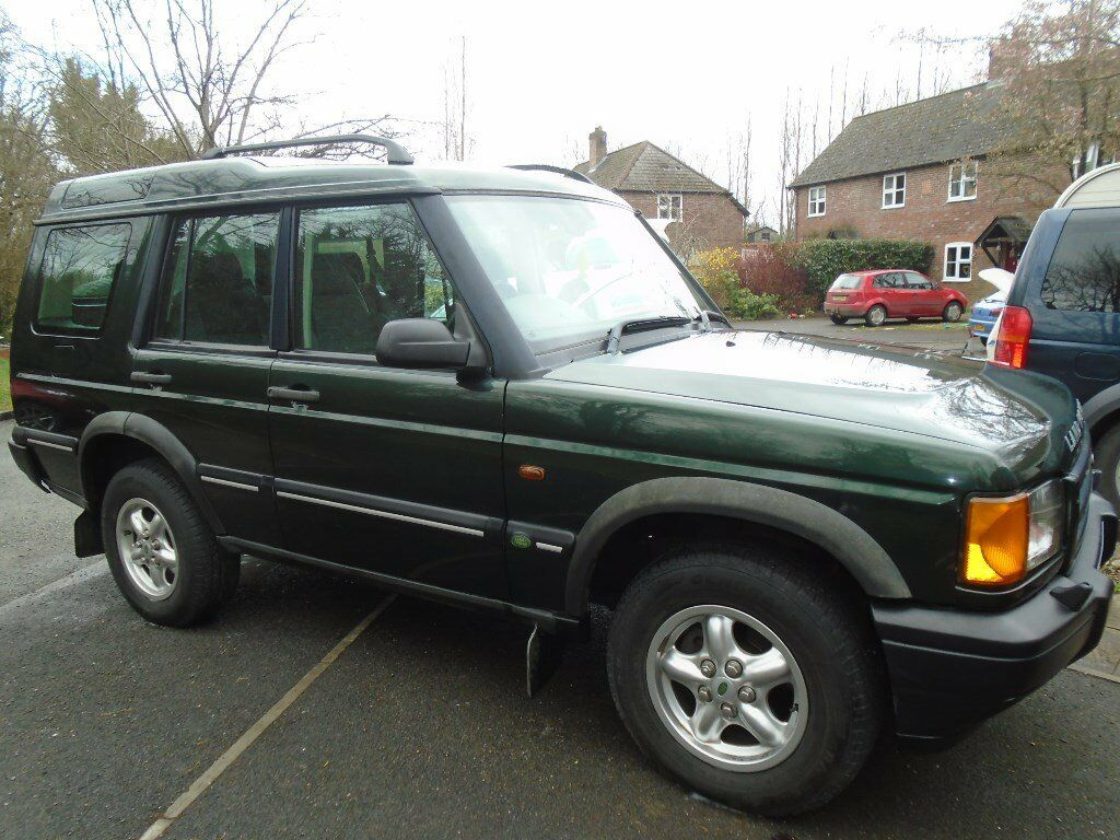 Landrover Discovery 2 TD5, 2001, Manual, 2.5L Diesel 4x4