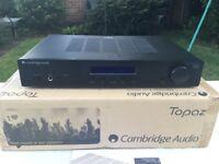 Cambridge audio topaz amplifier