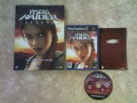 TOMB RAIDER LEGEND + STRATEGY GUIDE PS2