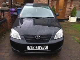 Toyota corolla for sale £1200