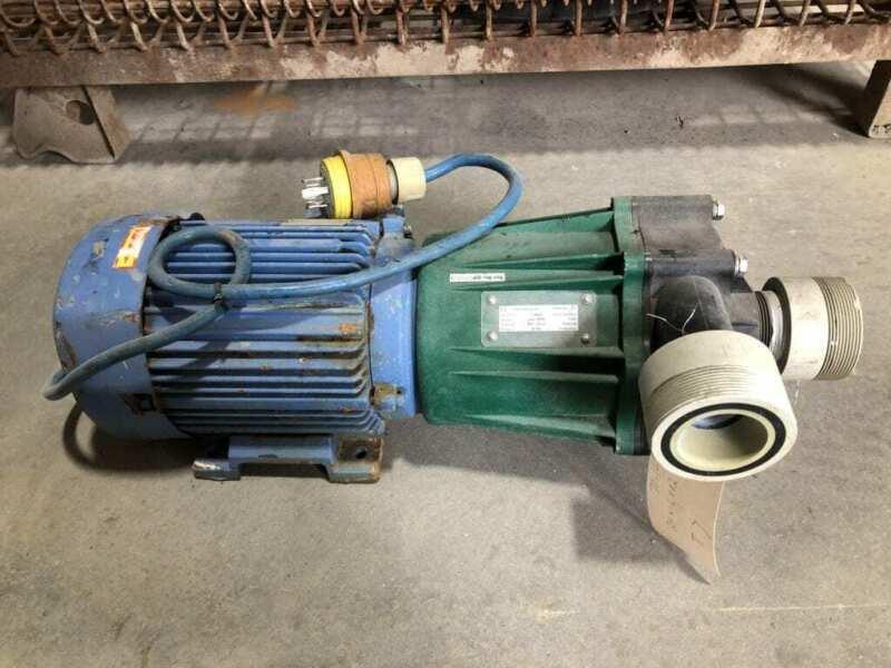 Bohncke PME-5000 PP/Viton 3HP Magnetic Drive Pump 2880RPM 230/400V 50Hz 3PH