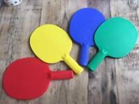 Ping pong bats / Table tennis
