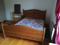 King size sleigh bed for sale collection only
