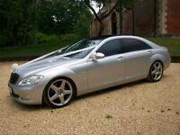 Wedding Car Hire - Mercedes Benz S Class LWB - Long Wheel Base Version